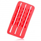 Silicone Candied Fruit Shaped Ice Cubes Trays Maker DIY Mould - Red