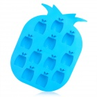 Silicone Pineapple Shaped Ice Cubes Maker DIY Mould - Blue