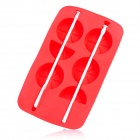 Silicone Lemon Shaped Ice Cubes Trays Maker DIY Mould - Red