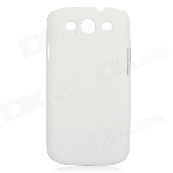 Protective Plastic Hard Case for Samsung Galaxy S3 i9300 - White