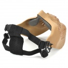 Tactical Outdoor Sports Skull Face Protection Mask - Skull Color