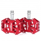 Replacement Aluminum Alloy Bike Bicycle Pedal - Red (Pair)