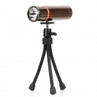 3W Blue Light LED Fishing Light with Tripod Stand - Golden (3 x AA)