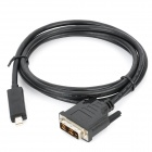 Mini DisplayPort Male to DVI Male Adapter Cable (1.8M- Length)