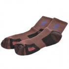 Topsky Outdoor Sports Quick Dry Socks - Coffee (Pair/Size-M)