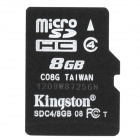 Original Kingston Micro SDHC / TF-Speicherkarte (8GB)