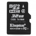 Genuine Kingston SDHC / TF Memory Card (32GB)