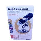 200X 2.0MP USB 2.0 Wired Digital Microscope w / 8 Branco Detentor LEDs / Monte (140cm-Cabo)
