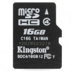 Genuine Kingston Micro SDHC TF Memory Card (16GB)
