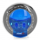 3W 29-LED RGB Light Decoration Dome Lamp - Blue (DC12V)