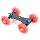 Camera Tabletop Dolly Skater - Red + Black