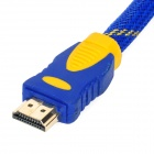 3D 1080P HDMI V1.4 Male to Male Round Connection Cable (2000cm)