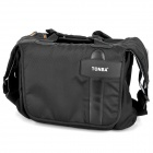 TONBA 9180S Protective Nylon Fabric One-Shoulder Bag w/ Rain Cover for DSLR - Black