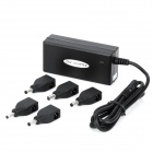 Universal Power Adapter Charger for Laptop Notebook (5 Connectors / AC 110~240V)