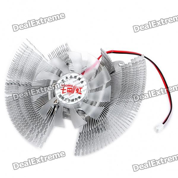 QQ Wizard Video Card Heatsink Cooling Fan for Nvidia and ATI (2500RPM) for acer aspire v3 772g notebook pc heatsink fan fit for gtx850 and gtx760m gpu 100% tested