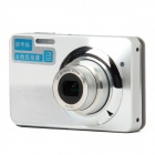 "HDC-570 2.7"" TFT LCD Screen Max 12MP 5X Optical Zoom Digital Camera - Silver + Black"