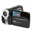 "HD-200 5.0MP Digital Video Recorder Camcorder w/ 3.0"" TFT / 16X Digital Zoom / SD - Black"