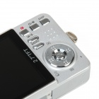"K50 5.0MP Digital Camera with 2.7"" TFT LCD - Silver"