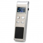 "Cenlux C60 1.0"" LCD Digital Voice Recorder w/ MP3 Player - Silver (2GB)"