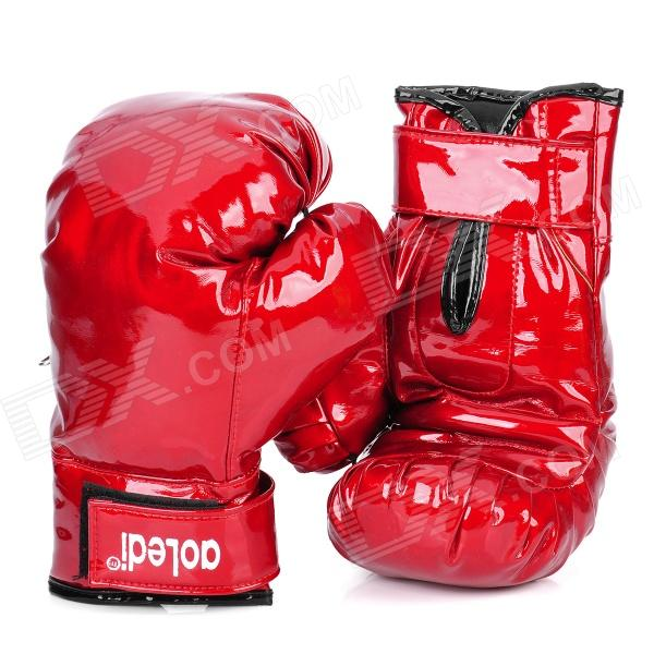 Professional Boxing Training Gloves - Red (Pair)