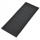 3D Carbon Fiber Paper Decoration Sheet Car Sticker - Black (20 x 50cm)