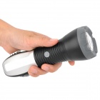 9-in-1 Flashlight + Lantern + Red Emergency Light + Hammer + Saw Emergency Multi-tool (3 x AAA)