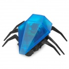 Iphone/android r/c robot beetle practical joke toy - blue + black