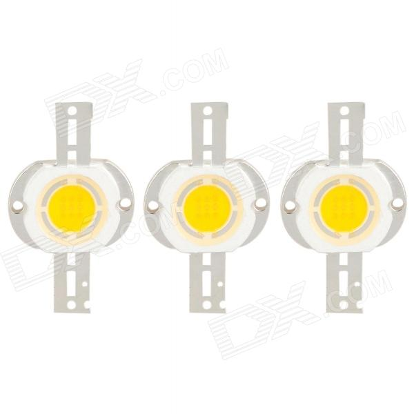 10W 800LM Warm White Light 9-LED Lamp Bead Module (DC 9~11V /3 PCS)Model:6226MaterialMaterial:PlasticForm  ColorWhitePower:10WColorColor BINYellowEmitter TypeLEDTotal Emitters:9PowerPacking List<br>