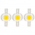 DIY-10W 3050 ~ 3250K 800 ~ 900lm Warm White Light 9-LED-Modul (DC 9 ~ 11V / 3-Pack)