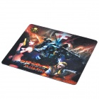 CF-1 CrossFire Gaming Rubber Mouse Pad - Black + Red + White