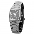 SINOBI Tungsten Steel Band Quartz Wrist Watch for Lady - Black