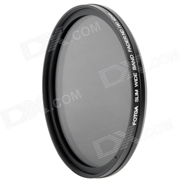 Ultra-Slim Variable Neutral Density ND2-ND400 Fader Filter - Black (62mm) fotga neutral density nd2 nd400 fader nd filter 72mm