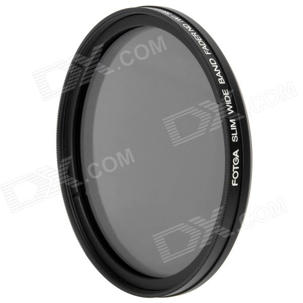 Ultra-Slim Variable Neutral Density ND2-ND400 Fader Filter - Black (58mm) fotga neutral density nd2 nd400 fader nd filter 72mm