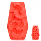 Silicone Cool Blooded Teeth Shaped Ice Cubes Trays Maker DIY Mould - Random Color