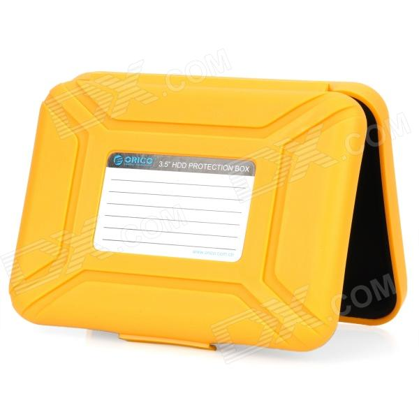ORICO 3.5 Protective SATA / PATA HDD Box Case - Yellow orico 3 5 protective sata pata hdd box case yellow
