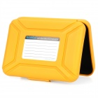 "ORICO 3.5"" Protective SATA / PATA HDD Box Case - Yellow"