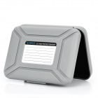 "Protective Anti-Static PP 3.5"" HDD Enclosure Case - Grey"