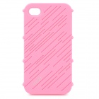 Stylish Protective Silicone Case for Iphone 4 / 4S - Pink