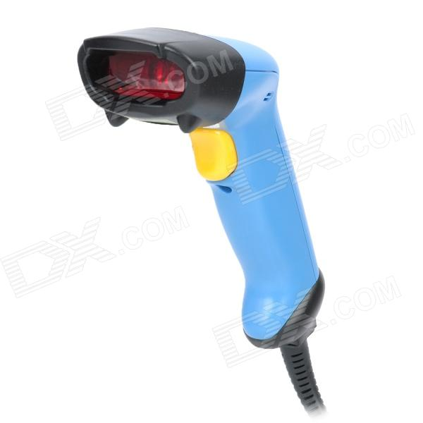 SL-8800 Handheld USB Visible Laser Barcode Scanner - Blue high quality omnidirectional multi line laser barcode scanner yk 8120 20 scan lines with usb2 0 free shipping for pos usb