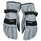 WONNY Outdoor Sports Long Fingers Non-slip Gloves - Grey