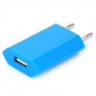 AC Charging Adapter Charger for iPhone 4 / 4S - Blue (EU Plug)