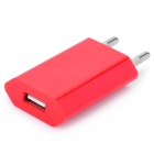 AC Power Adapter Charger for iPhone 4 / 4S - Red (EU Plug / 100~240V)
