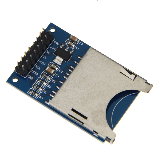 SD Card Reading Writing Module for Arduino (Works with Official Arduino Boards) 0 36 led 4 digit display module for arduino black blue works with official arduino boards
