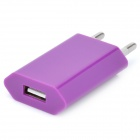 AC Charging Adapter Charger for iPhone 4 / 4S - Purple (EU Plug)