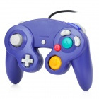 Wired Dual-shock Analog Controller for NGC / Wii - Blue (150cm-cable)