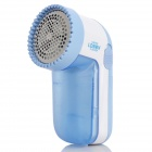Mini Portable Clothes Fuzz Pill Lint Remover Shaver - Blue (2 x AA)