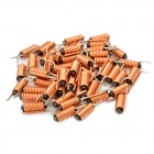 Wired Magnetic Power Inductor - Orange (50-Piece Pack)