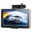 "5.0"" Resistive Screen WinCE 6.0 Car GPS Navigator / DVR with European Map / 4GB TF / AV-IN - Black"