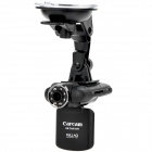 "2.0"" LCD 5.0MP Wide Angle FHD Car DVR Camcorder w/ 8X Digital Zoom / HDMI / AV / SD Slot"
