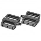 Replacement Aluminum Alloy Bike Bicycle Pedals - Black (Pair)